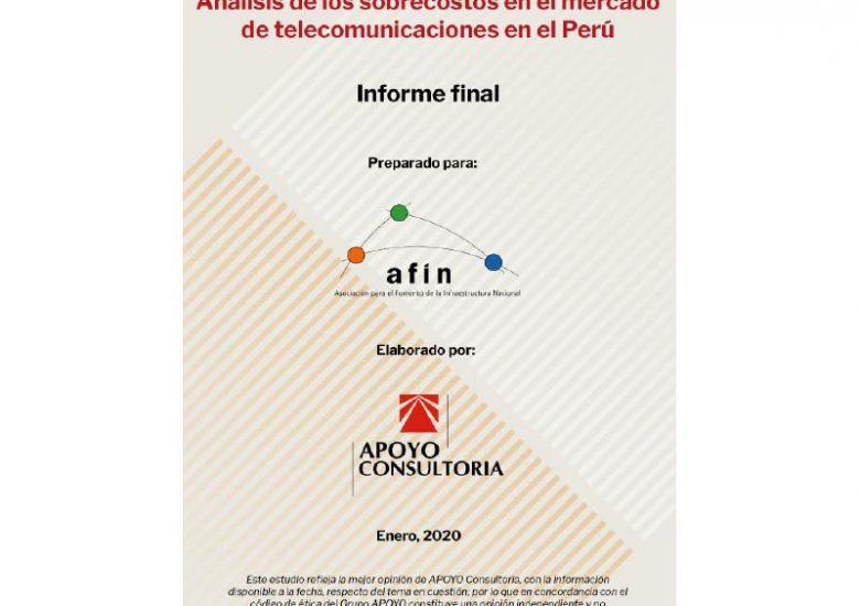 Análisis de los sobrecostos en el mercado de telecomunicaciones en el Perú