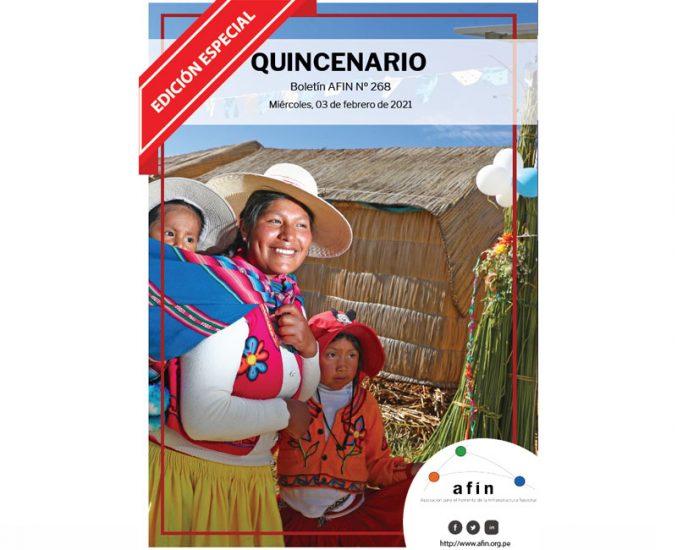 Quincenario 268 –          Edición Especial
