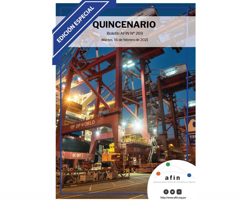 Quincenario 269 –          Edición Especial