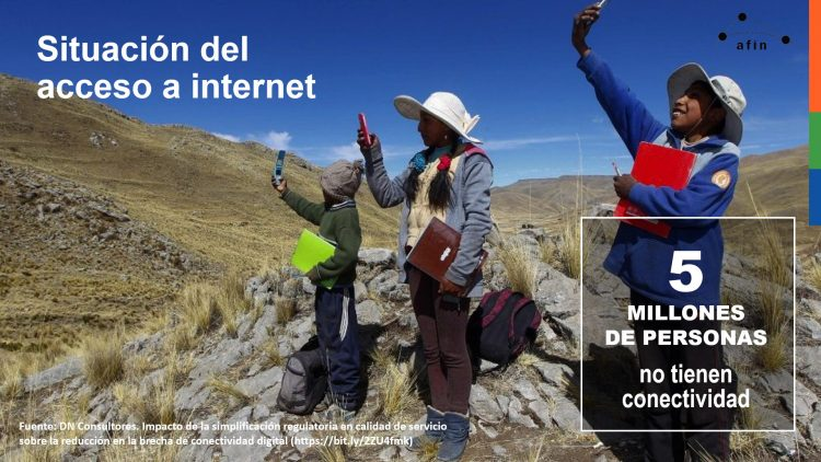 Situación del acceso a internet