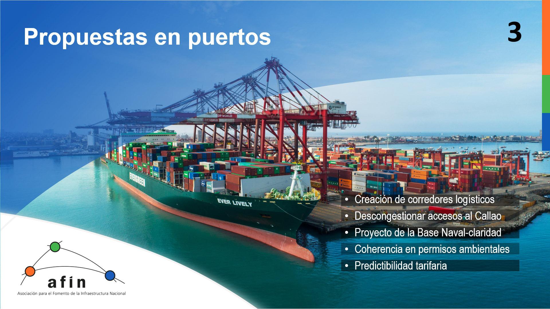 Situación en puertos